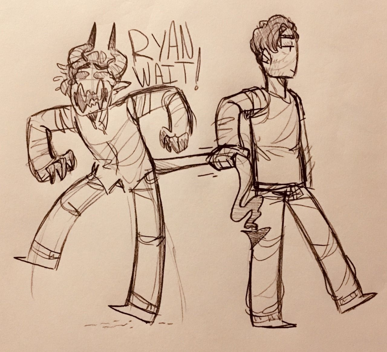 "This demon's a wimp!"" Some demon Shane's ft  a singular"