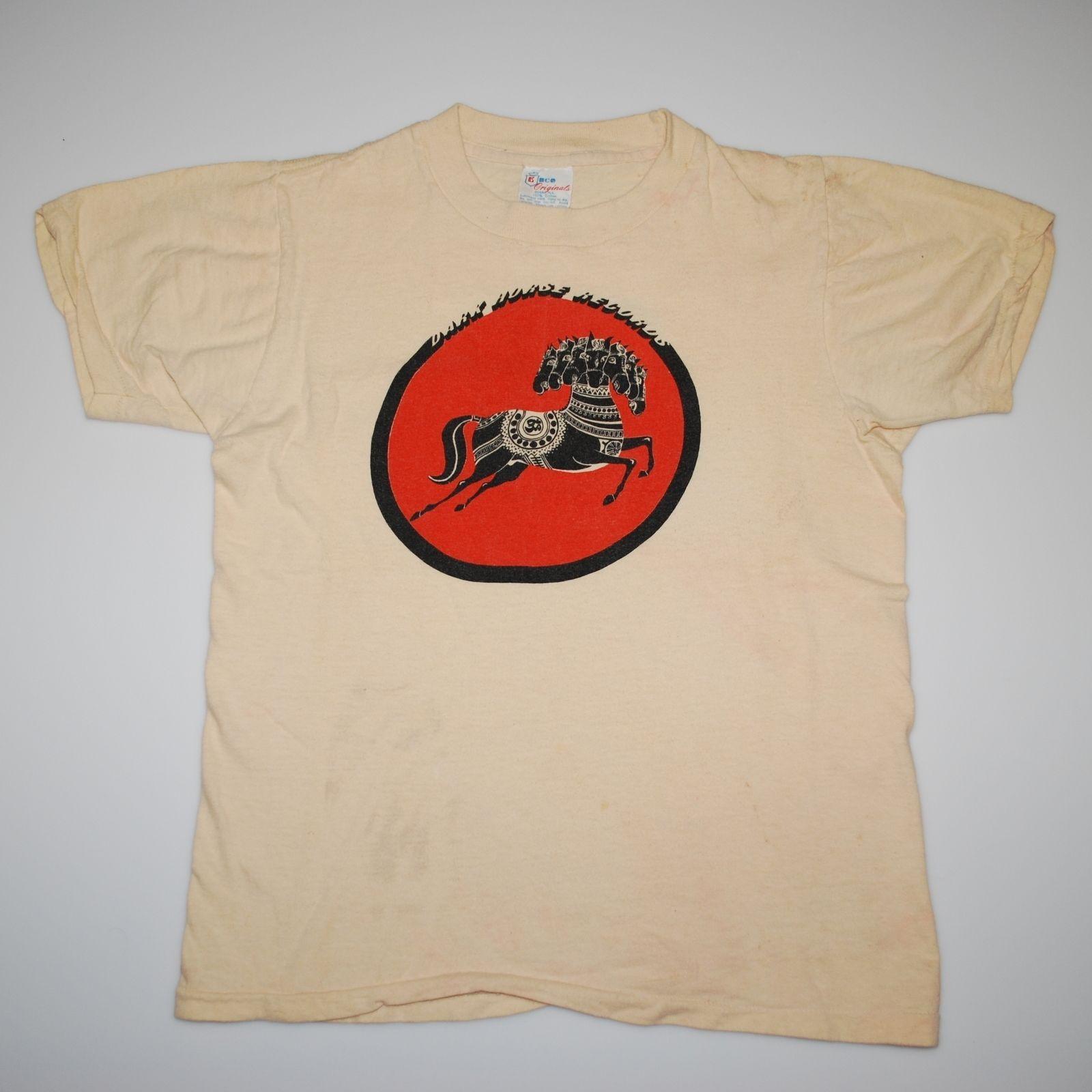 Original Vintage 1974 George Harrison Dark Horse Records A M Records Promo Shirt | eBay
