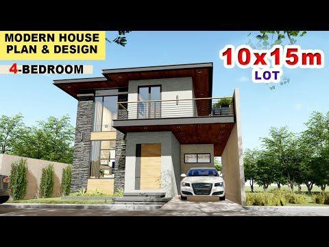 Ep 06 4 BEDROOM HOUSE DESIGN PHILIPPINES 2 STOREY
