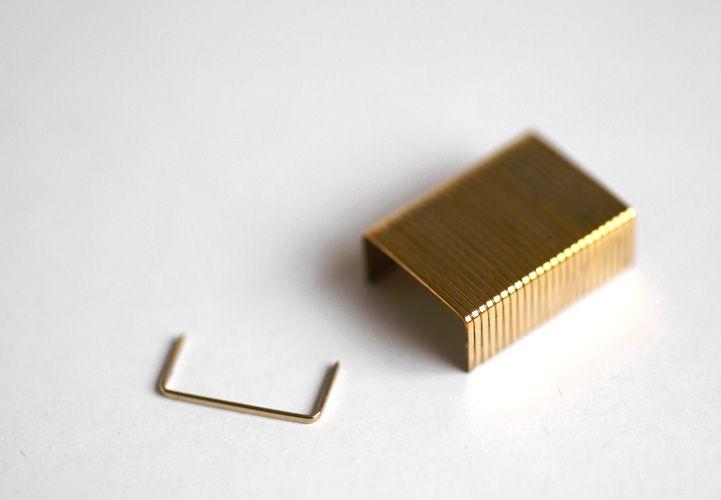brass staples