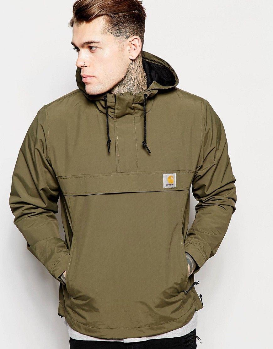 63848ebeba3 Image 1 of Carhartt WIP Nimbus Hooded Pullover Jacket | no idea ...