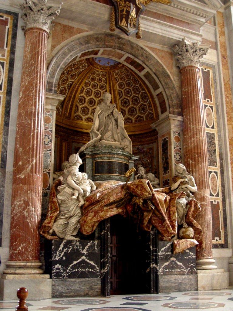 Resultado de imagen de Tumba de Alejandro VII de Bernini