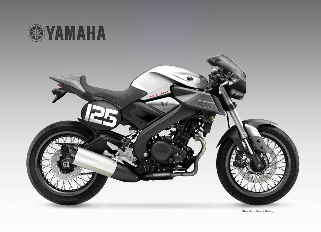 Yamaha Mt 125 Cr Ii Von Oberdan Bezzi Design Xjr 1300 Xjr