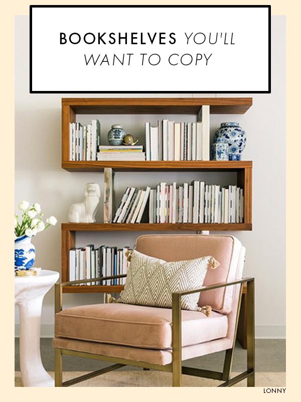 20 Bookshelves You Ll Want To Copy Asap Bookshelf Design Diy Bookshelf Plans Bookshelves Diy