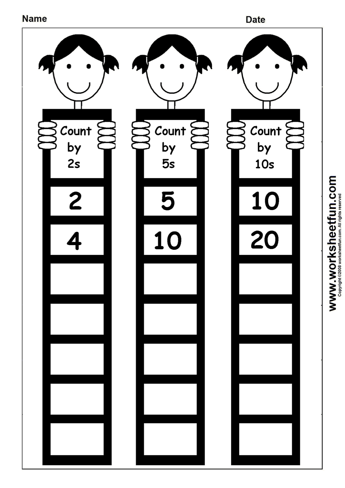 Count By 2s 5s 10s Homeschooling Math