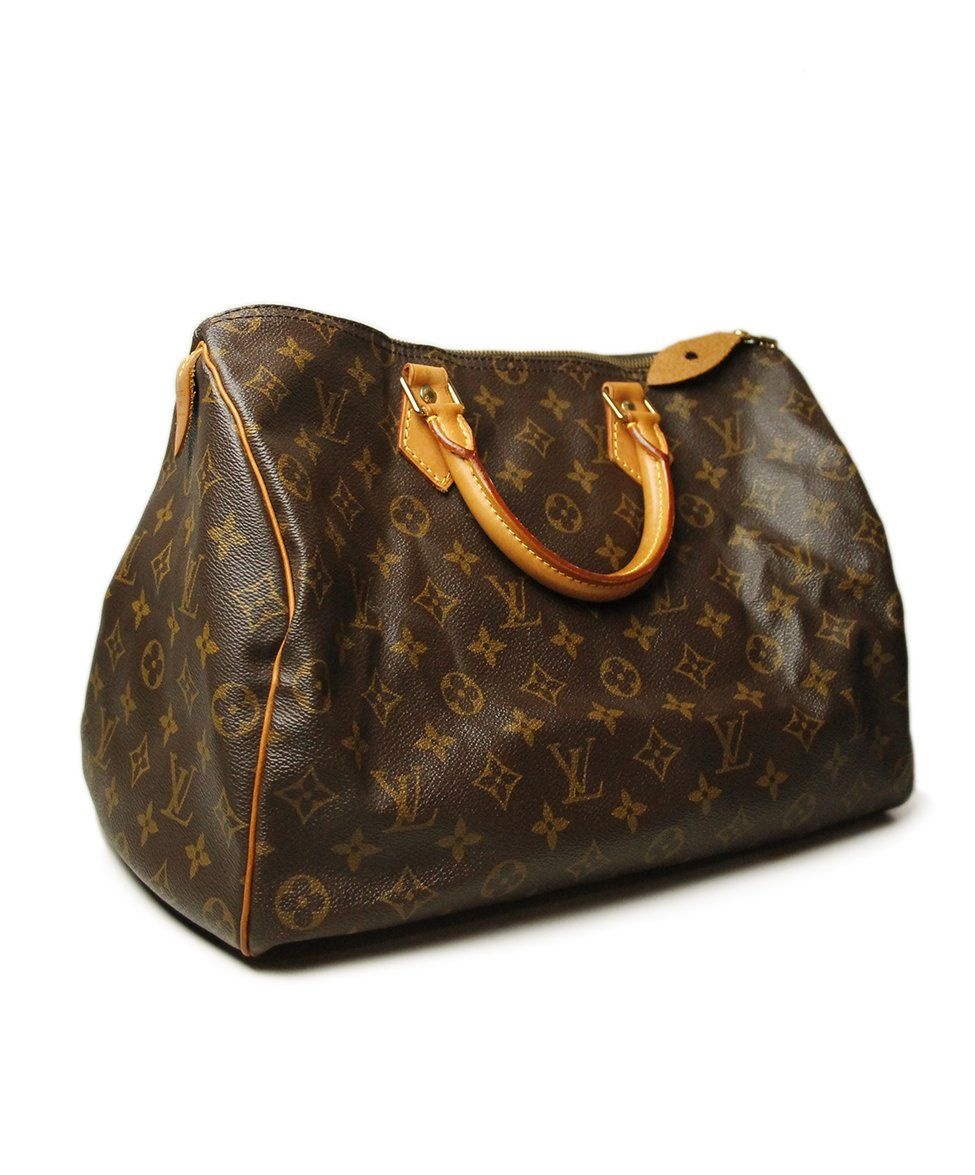 Louis Vuitton Speedy Monogram Leather Handbag | Michael's ...