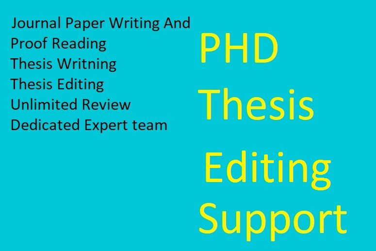 English editing service science