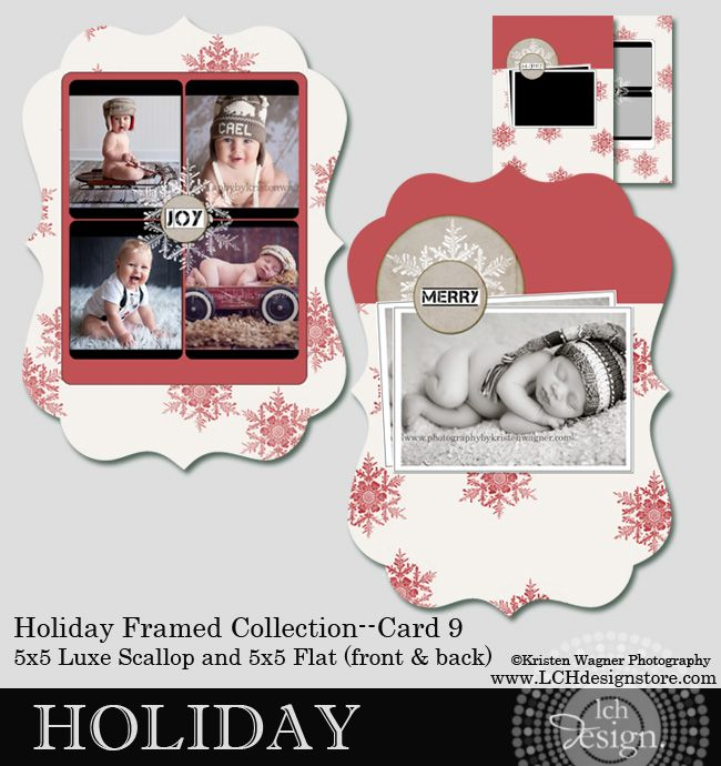 preview holiday template