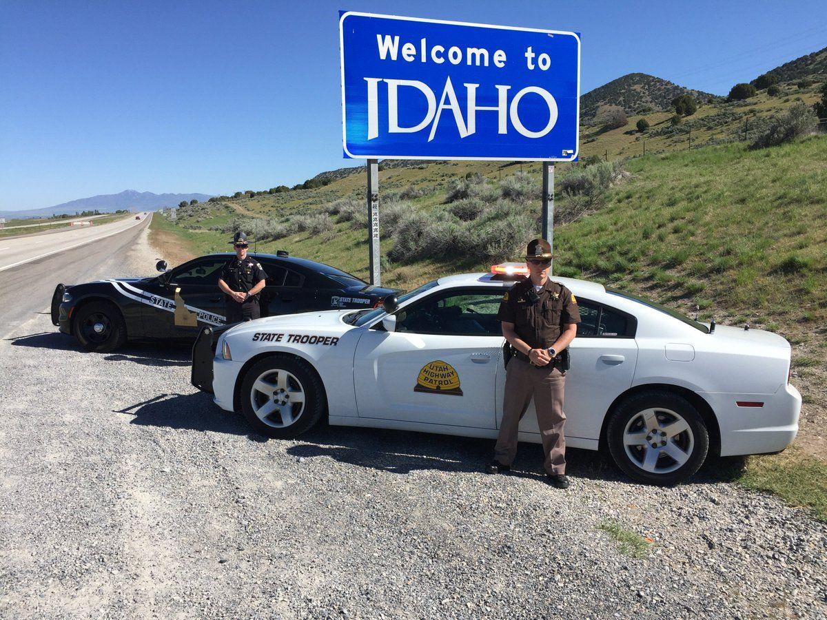Idaho State Patrol Utah State Patrol Old Police Cars State Trooper Police Cars