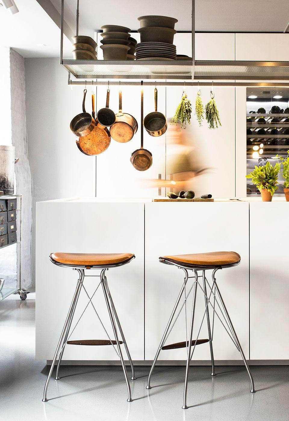 Boffi kitchen space overgaard dyrman bar stools