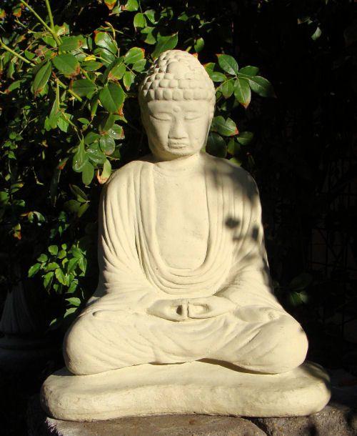 Zen Garden Vintage Meditating Buddha (Large) Choice Of Finishes $249 Inc  Shipping @ Www