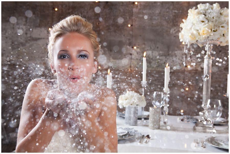 идеи фотосессии с искусственным снегом стен фактурной