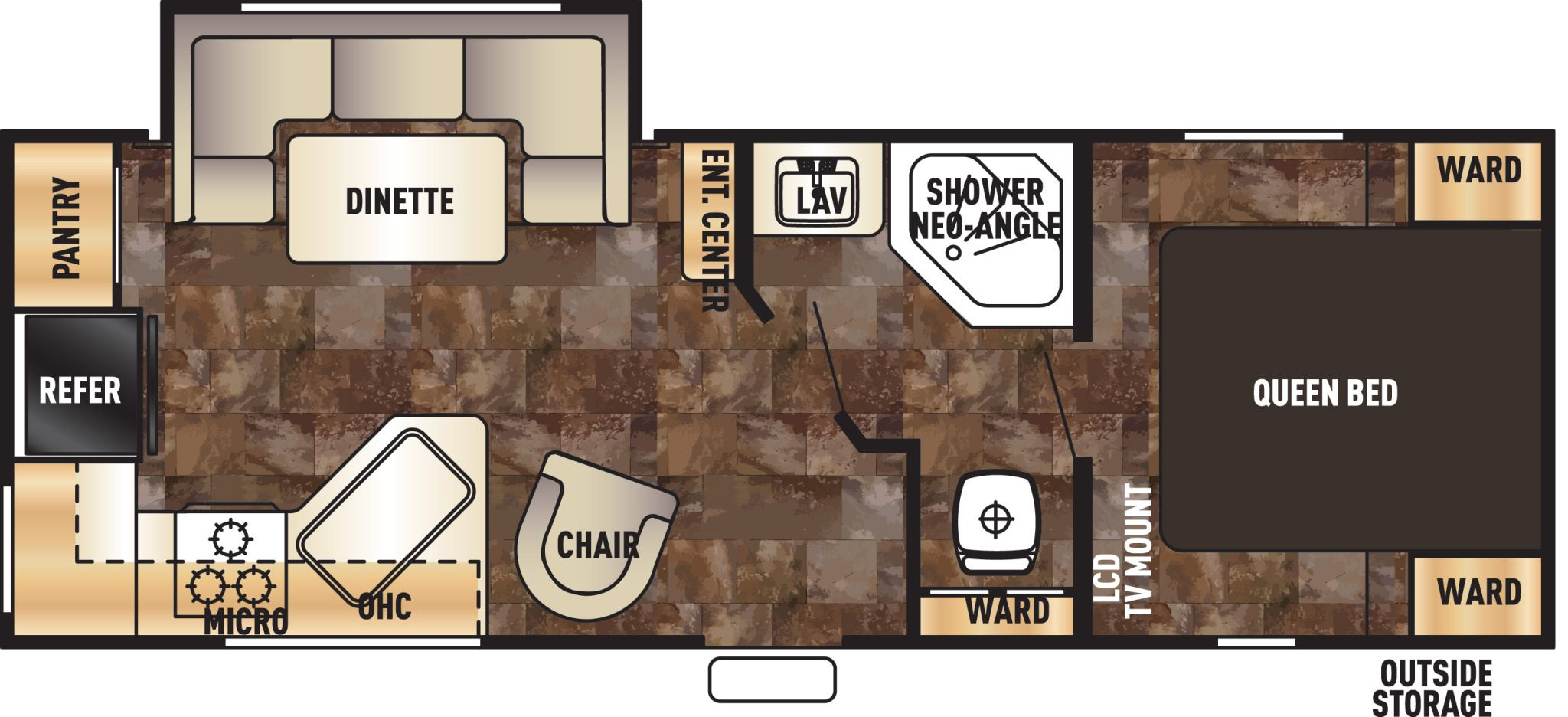 2016 Grey Wolf 24rk Floor Plans Forest River Rv Forest River