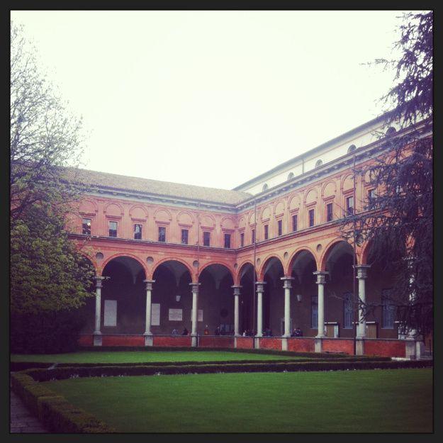 università cattolica - cortile interno