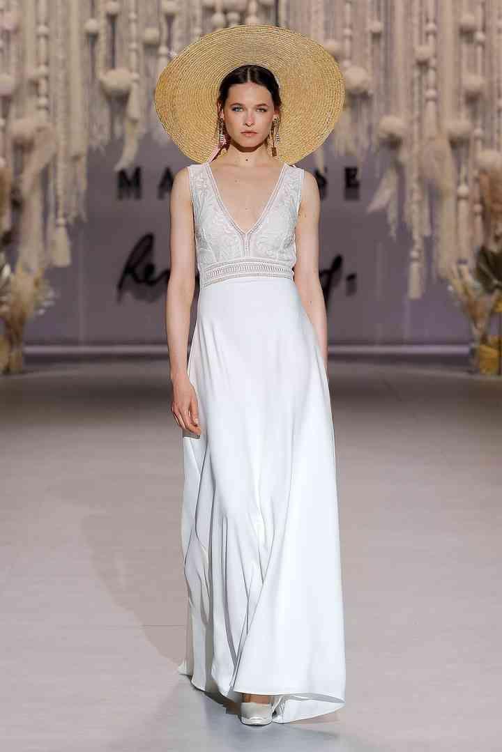 Vestidos de novia sencillos: los 91 modelos más bonitos  – Boda