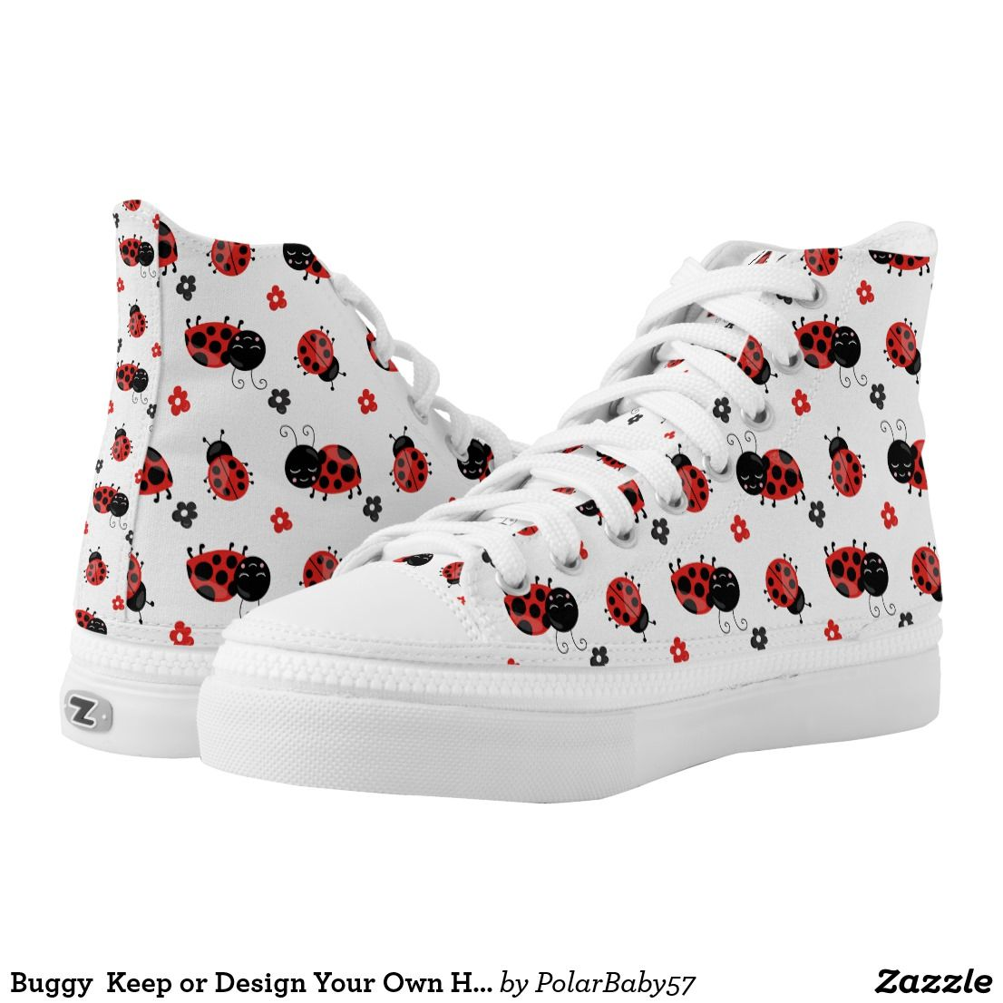43d071130390 Ladybug Keep or Design Your Own High Top Shoes