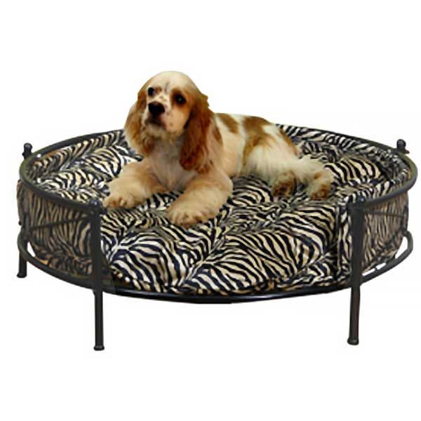 Barkshire Deluxe Wrought Iron Round Dog Bed At Guaranteed Est Prices With Express