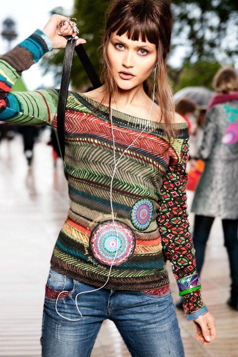 Lookbook - Online dameskleding en schoenen koop je op Desigual.com Desigual