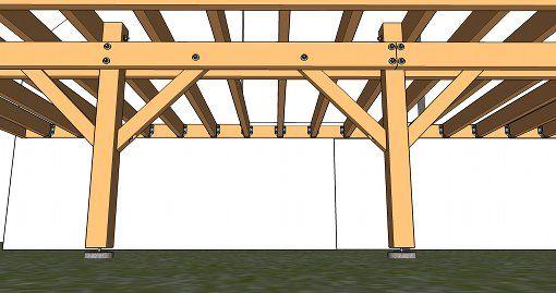 calcul de la section d 39 une double poutre porteuse sur. Black Bedroom Furniture Sets. Home Design Ideas