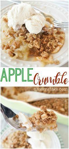 Easy Apple Crumble Recipe - Just 6 Ingredients!
