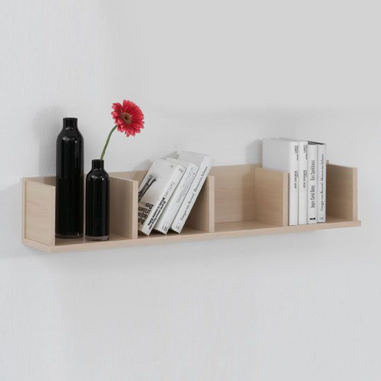 Point4 Maple Wall Mounted Display Shelves