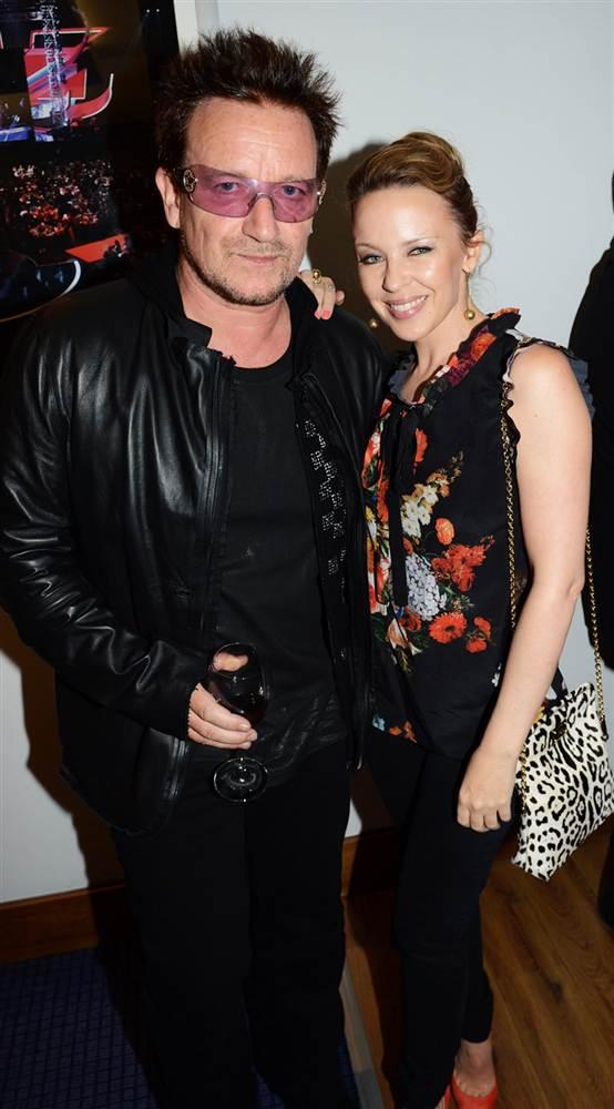 Bono Kylie Minogue Bono Kylie Minogue Style