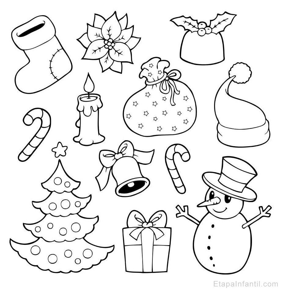 10 Dibujos De Navidad Para Imprimir Y Colorear Dibujos De Navidad Faciles Dibujos De Navidad Para Imprimir Dibujo Navidad Para Colorear