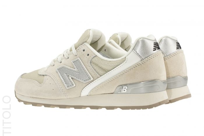 new balance 996 beige zilver