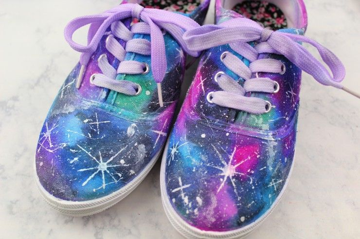 5e70b958af4f08 DIY Sharpie Galaxy Shoes - Frugal Mom Eh!