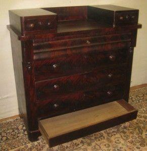 Hidden Storage Drawer In Antique Dresser Antique Dresser