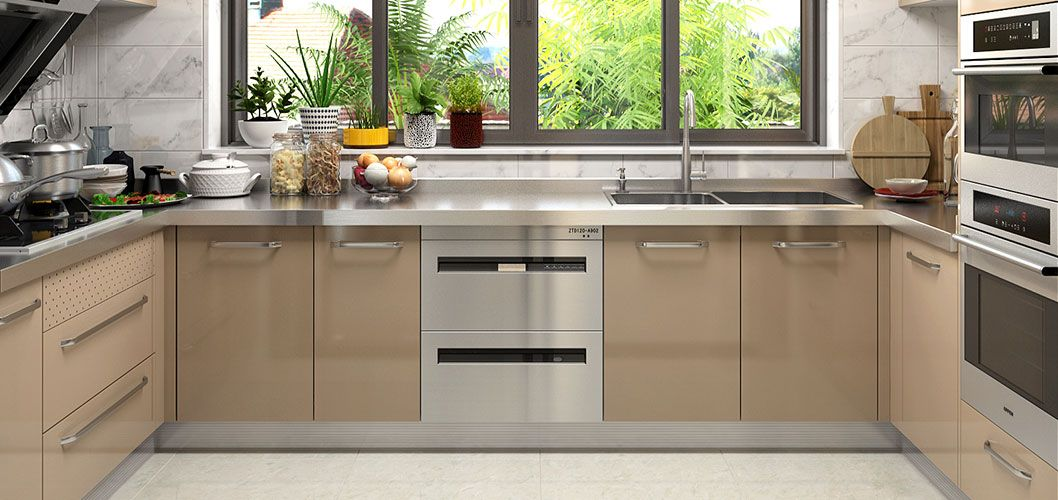 Coloured Stainless Steel Kitchen Color