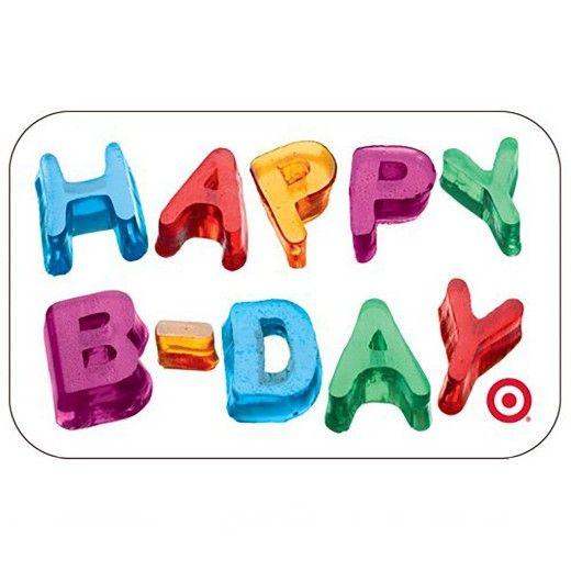 Birthday Cards Target Card Design