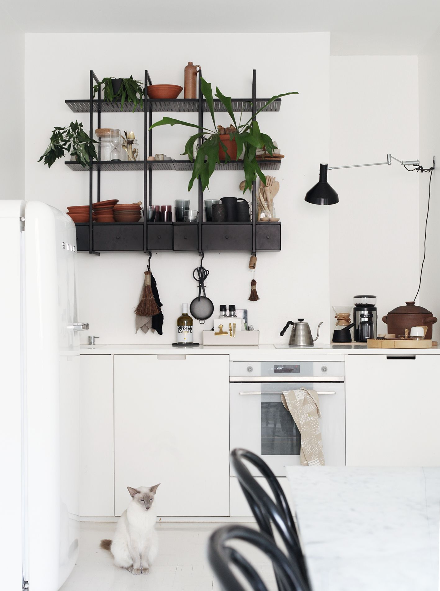 Susanna Vento\'s Kitchen, with shelf from Ikea | Kitchen & Dining ...
