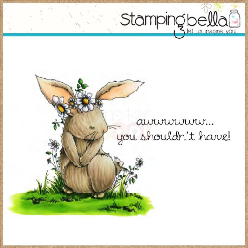 Stamping Bella Rubber Stamp - Woodsies Bedelia the bunny