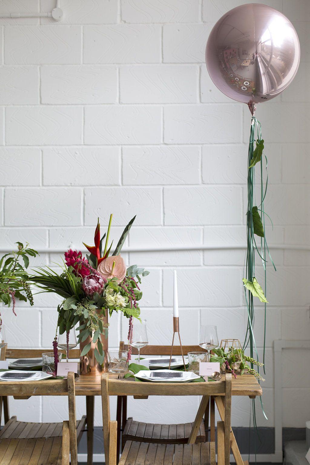 Tropical Wedding Inspiration For Summer Brides | Wedding Decor ...