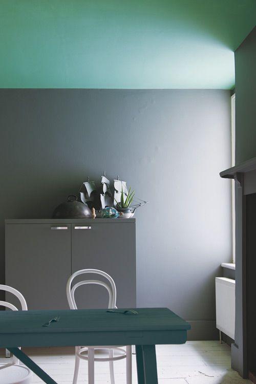 Grün Und Grau Für Die Küche: Farrow U0026 Ball Modern Emulsion FB ME #englisch # Farbe #wand