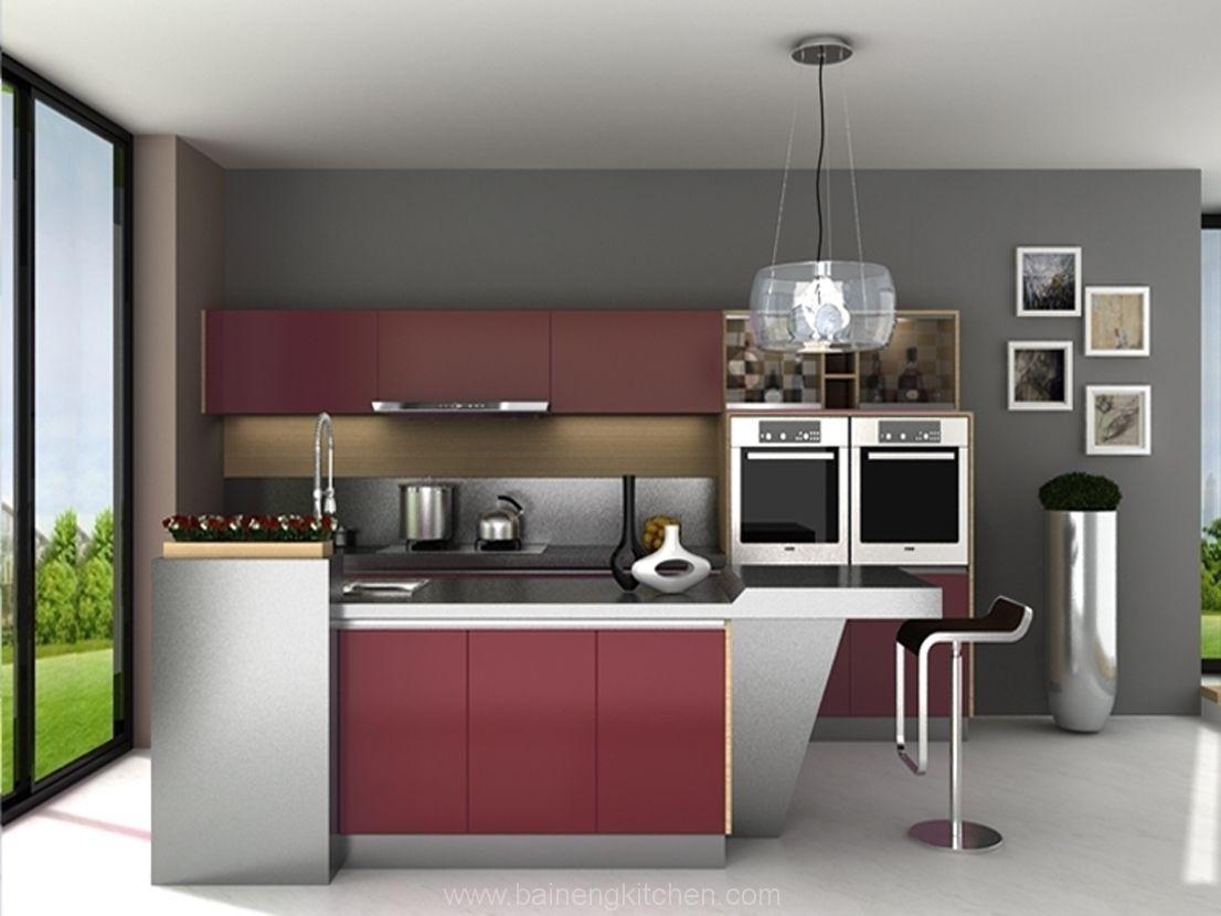 40 Beeindruckende Stahl Küche Schränke Bild Inspirationen