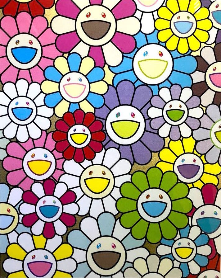 Pin on TAKASHI MURAKAMI