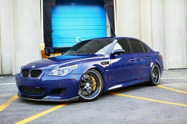 Bmw E60 M5 Blue Bmw E60 Bmw M5 Bmw Series