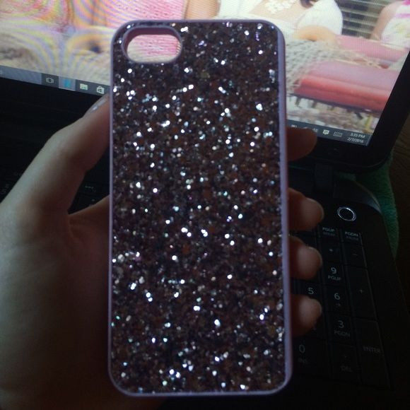 new concept 63d37 39309 Victoria's Secret phone case Fit iPhone 5s or 5c. Light pink with ...