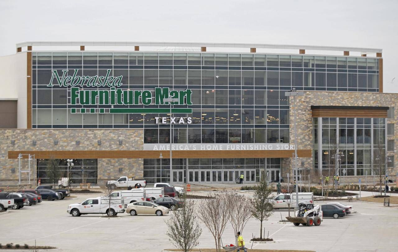 Nebraska Furniture Mart In The Colony Is As Big As It Boasts
