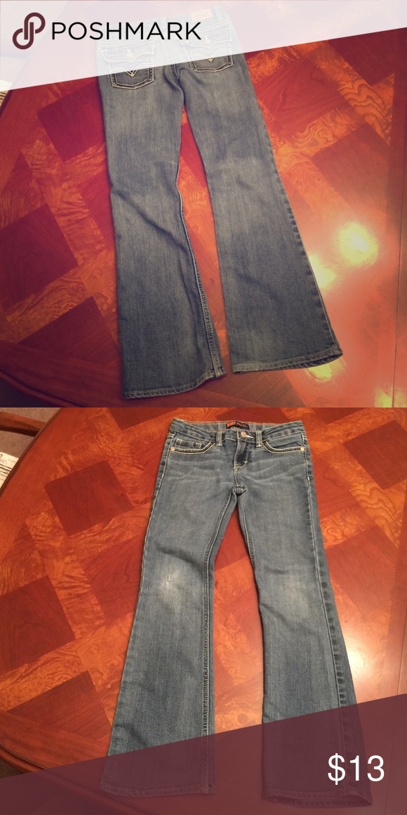 Girls Levi blue jeans. Size 8R In good condition. Has signs of wear but jeans are still in good condition with a lot of wear left. Levi's Bottoms Jeans