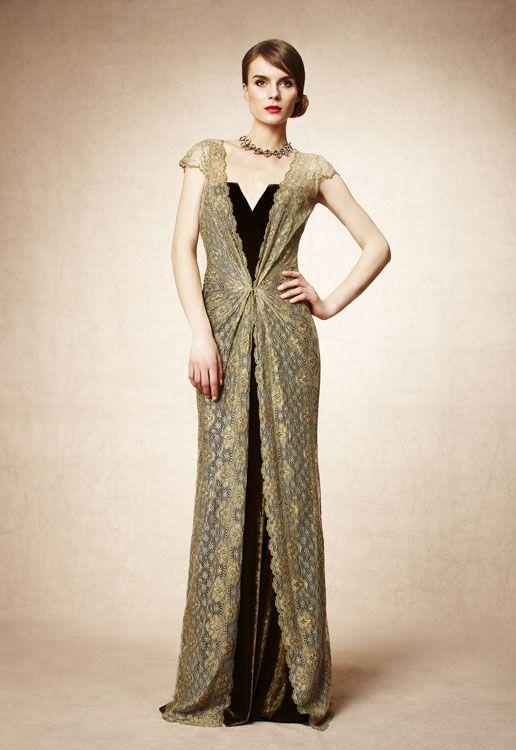 Looks para Nochevieja: vestidos dorados para brillar en Navidad ...