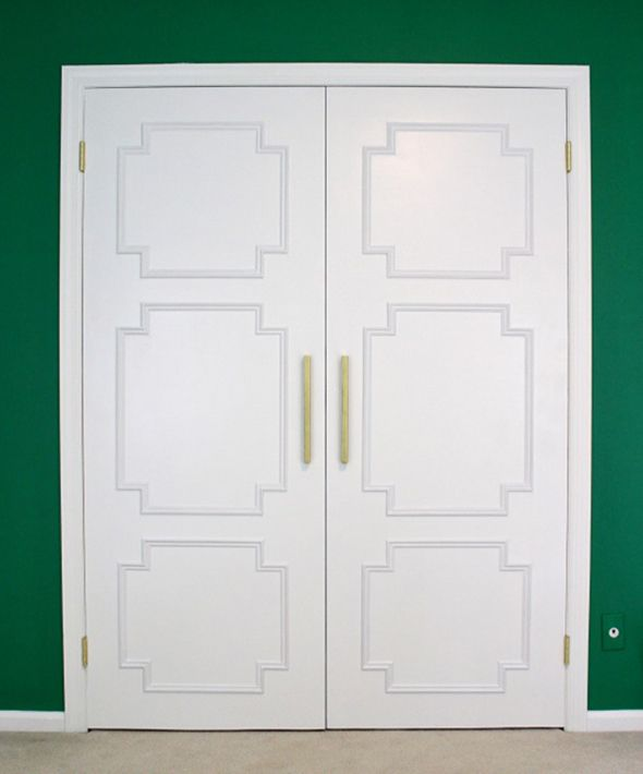 14 Ways to Beautify Your Closet Doors | for the home | Closet doors Closet Doors Palm Springs on