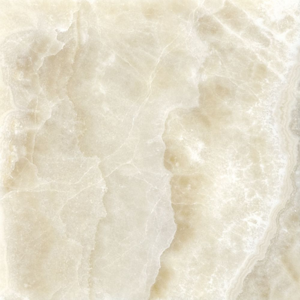 4-Inch x 4-Inch Polished Crema Onyx Tile (5.38 sq. ft./case ...