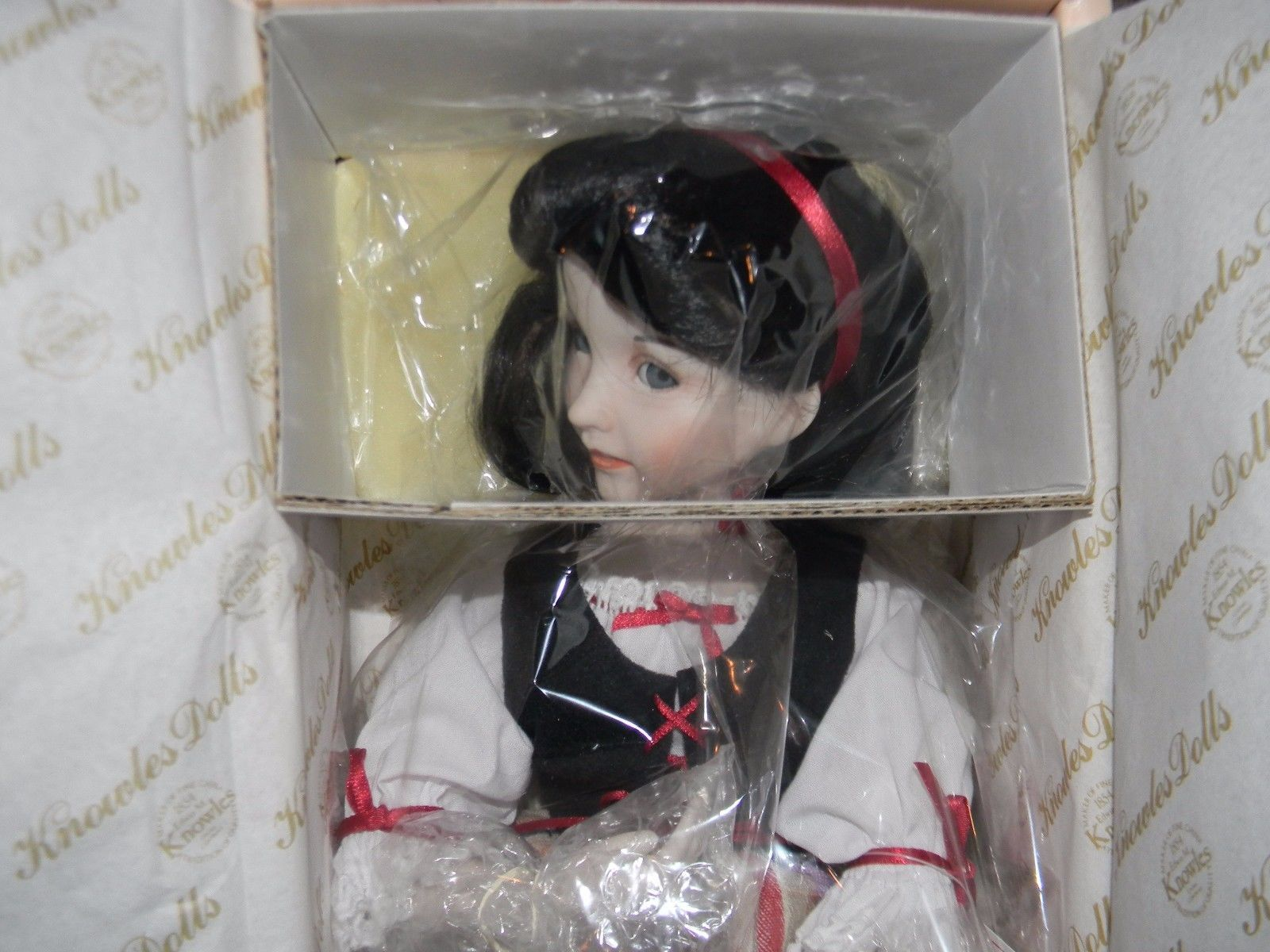 Ashton Drake Galleries Edwin Knowles Snow White Doll Heroines Effner Dianna | eBay