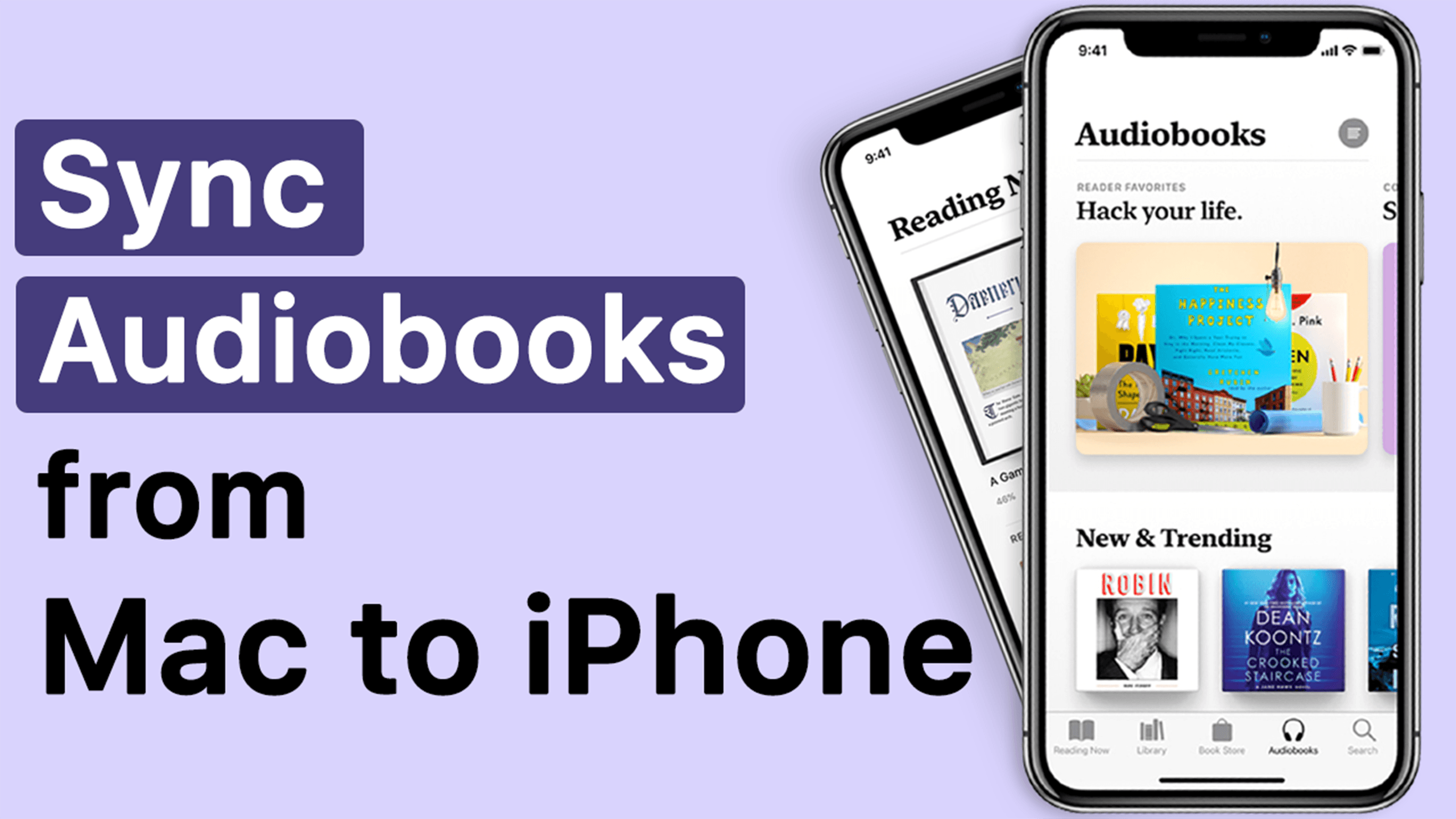 This video tutorial will show you how to sync Audiobooks from Mac to iPhone.  The WALTR 2 audiobook to iOS solution works with all M… (With images)    Audiobooks, Sync, Audio books