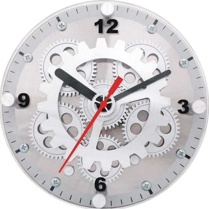 Maples Clock 6 Moving Gear Wall Desktop Clock Gear Wall Clock Desk Clock Design Desktop Clock