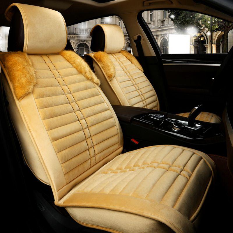 Wondrous Winter Warm Faux Fur Seat Covers For Buick Enclave Encore Pabps2019 Chair Design Images Pabps2019Com