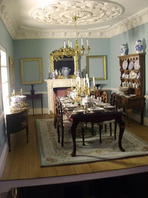 HUGE PRIVATE COLLECTION BRITISH ARTISAN HIGH END COLLECTORS DOLL HOUSE  FURNITURE